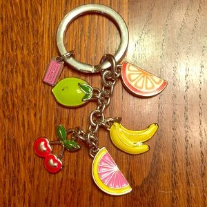Coach summer fruit Key Chain